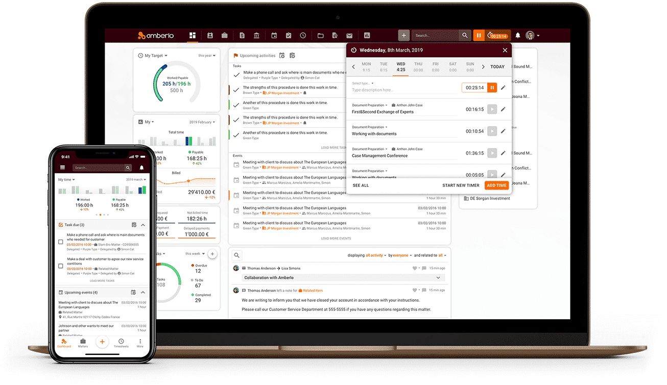 Amberlo - Case Management Software