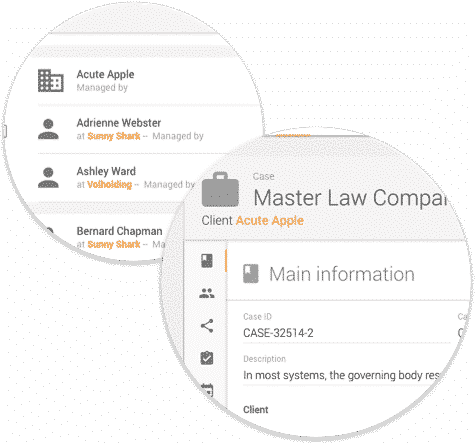 Matter and Contact Management