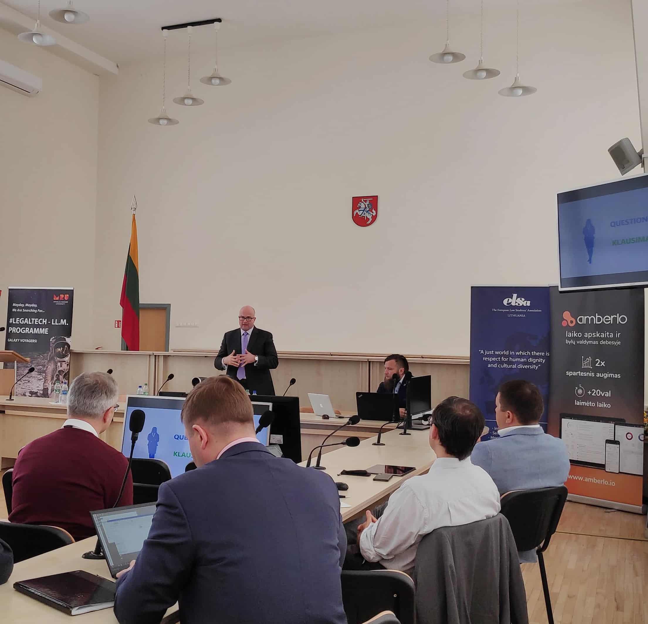 Legaltech conference Vilnius - blog image