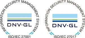 ISO/IEC 27001 & ISO/IEC 27017 image
