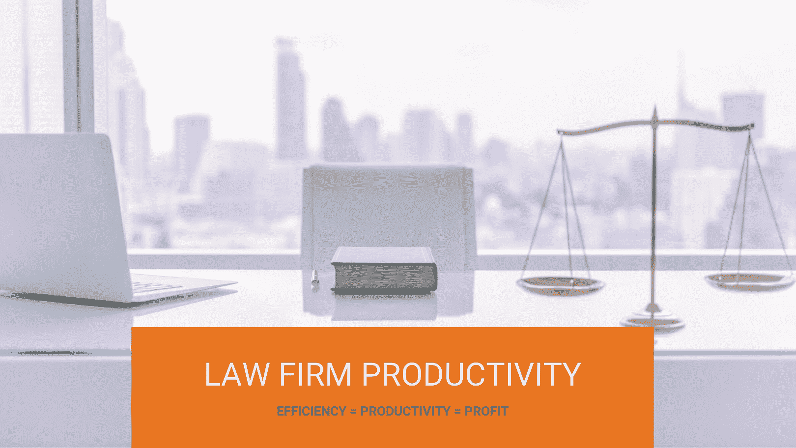 Law firm productivity - cover image