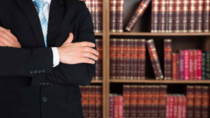 Lawyer With Arms Crossed