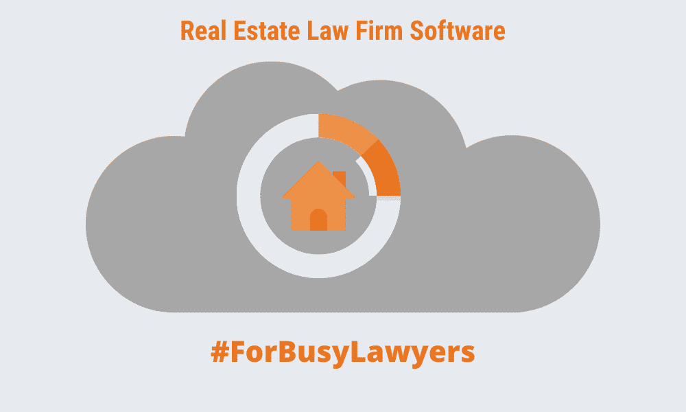 Real estate law firm software blog image
