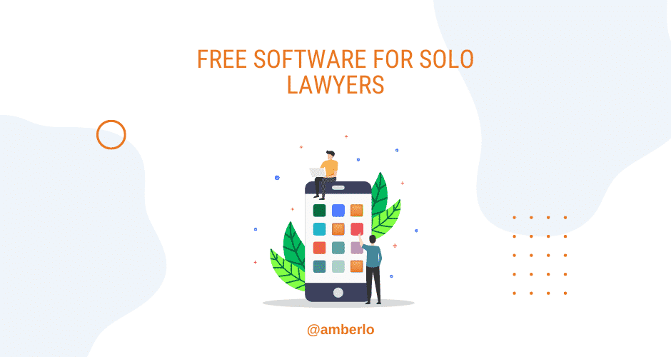free software for solo lawyers